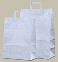 shopper in carta kraft